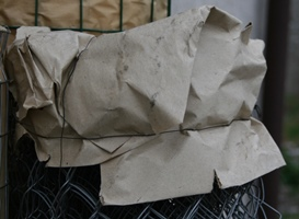 Упаковка рулонов сетки Рабица